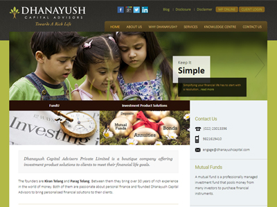 Dhanayush Capital Advisors